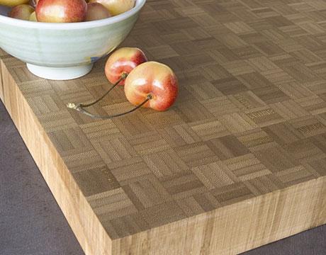 Bamboo countertop
