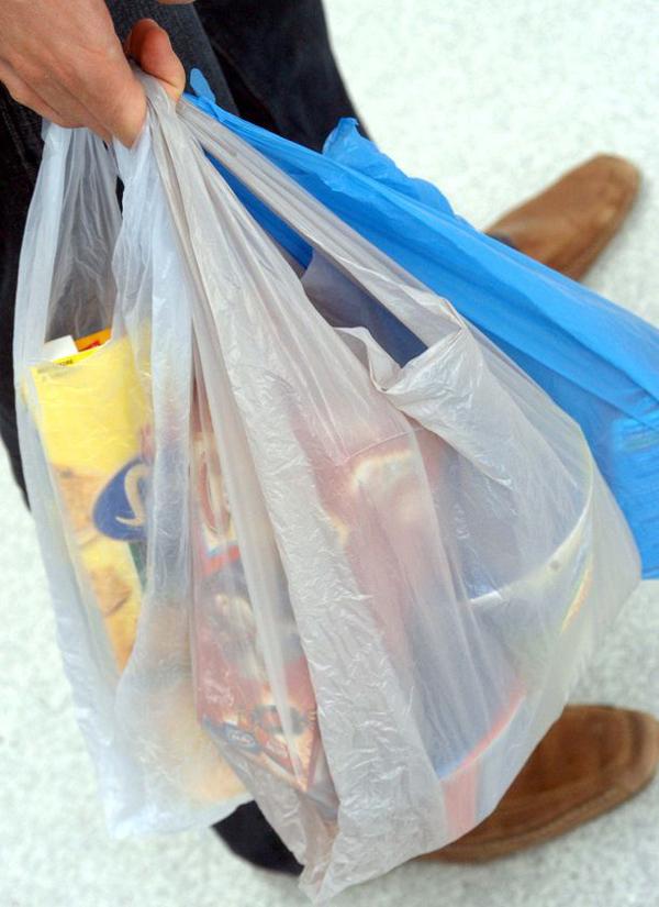 Ban of plastic bags