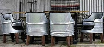 Chairs Made From Recycled Barrels Ecofriend