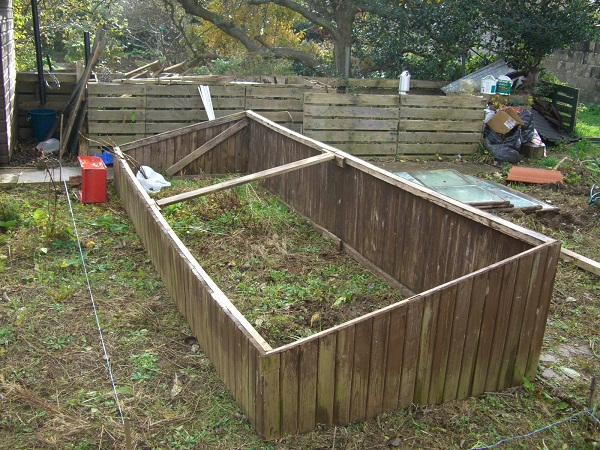 Base of Greenhouse