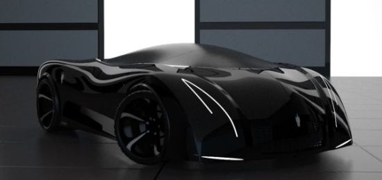 Eco Factor Next Generation Hybrid Sports Car Concept Makes An Friendly Statement