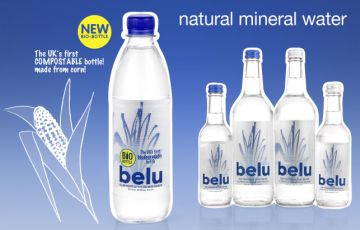 UK gets its first corn-based biodegradable mineral water bottles