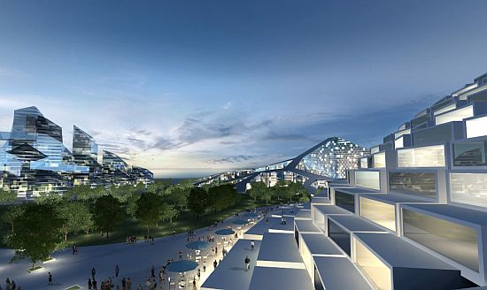 Eco Architecture: BIG Architects Designs Self Sufficient Residential  Development For Zira Island