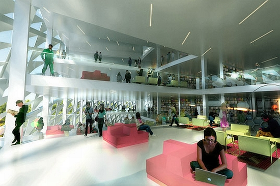 big architects library for kazakhstan 3