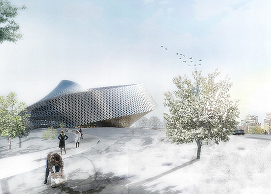 big architects library for kazakhstan 6