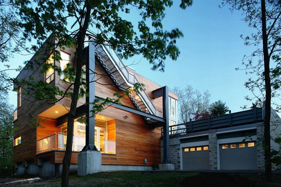 Eco Homes Single Speed Design Creates Modern Dwellings
