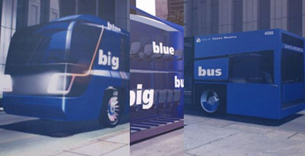 Big Blue Bus by Altcar