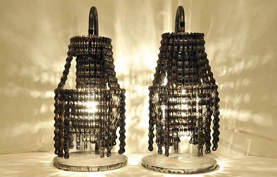 bike chain lamp 1