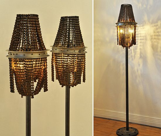 bike chain lamp 2