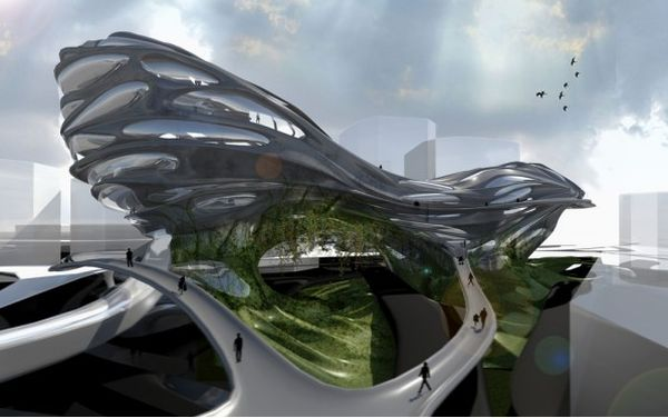 Praxis Of Flow Green Architecture Inspired By Evolution