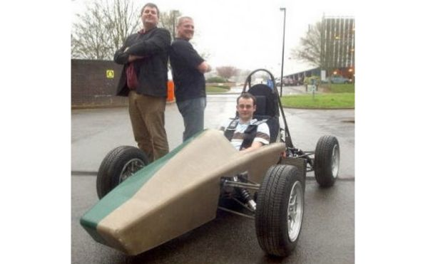 Biodegradable sports car