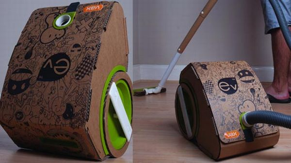 Biodegradable vacuum cleaner