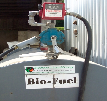biodiesel from vegetable oil
