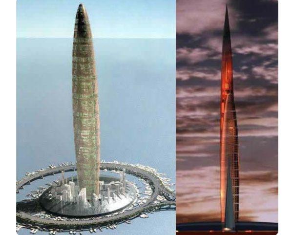 Bionic Tower in Shanghai