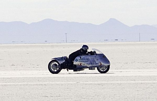 BMW biodiesel-fuelled motorbike