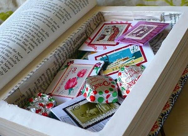 book safe by Teal Stripes