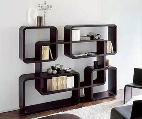 Stunning Bookshelf Designs To Complement The Green Interiors Of