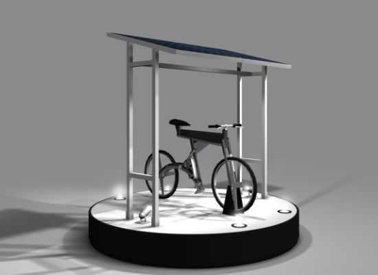 bosch solar powered electric bike 2