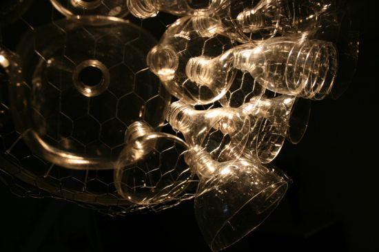 bottle chandelier 4