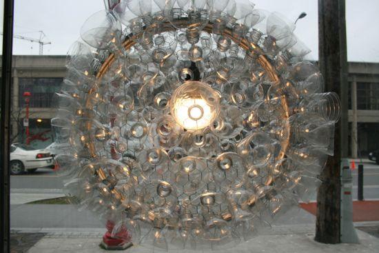 bottle chandelier 5