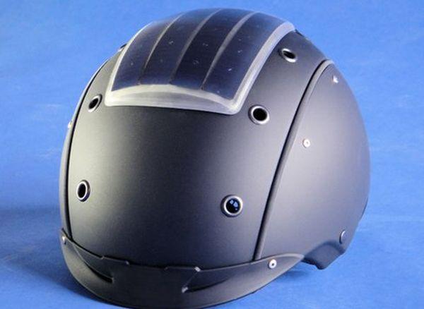 Breakthrough in Flexible High Efficiency Solar Panels Demonstrated on Ski Helmet