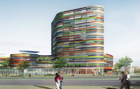 sustainable office building. Bsu Office 3. The Sustainable Building C