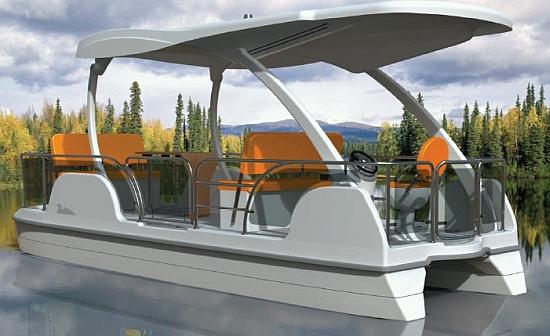 buffalo solar boat 1