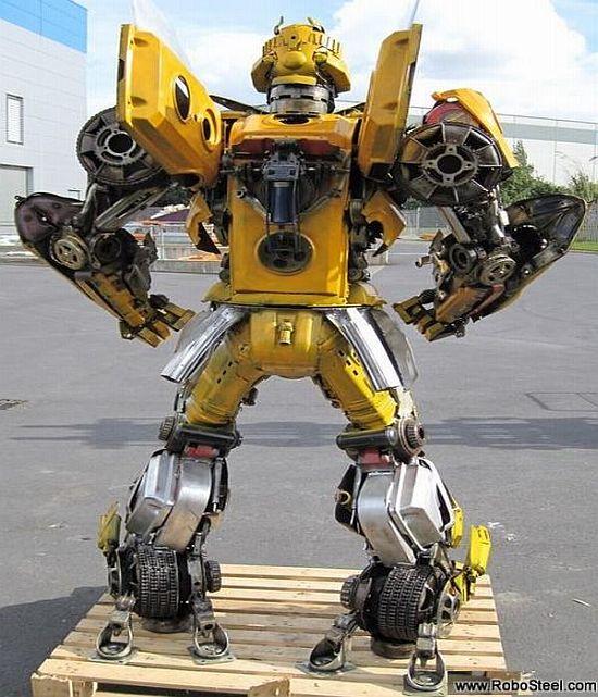 Designers Create Bumblebee Replica From Old Camaro Ecofriend
