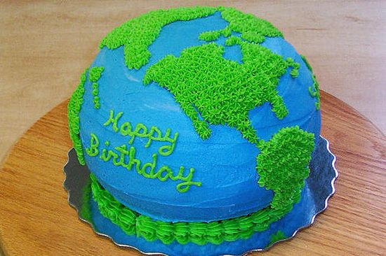 Cool Host A Green Birthday With Eco Friendly Birthday Cake Themes Funny Birthday Cards Online Overcheapnameinfo