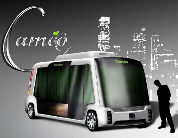 Cameo all-electric minibus