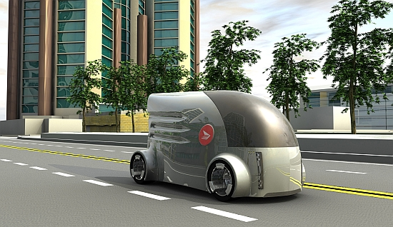 Eco Cars Canada Post Vehicle Thinks Electric For A Cleaner