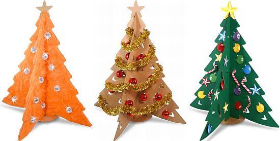 cardboard christmas tree DWIj2 69