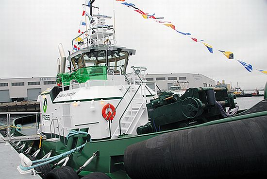 Eco Boats Hybrid Tugboat By Foss Maritime Reduces
