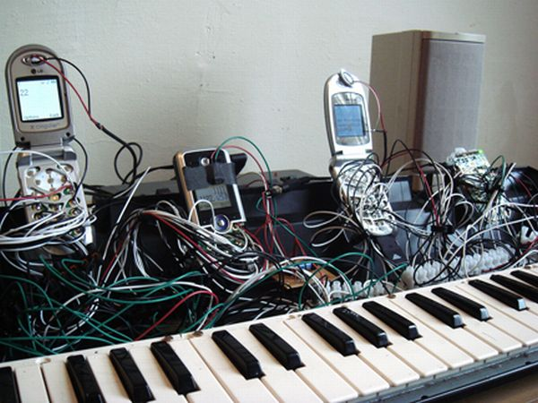 Cell Phone Piano Created by Joe McKay