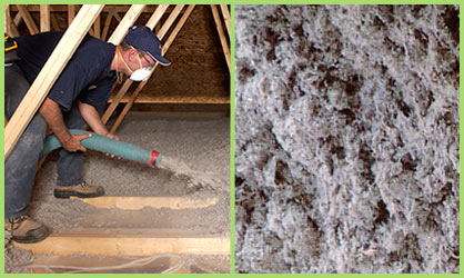 cellulose blow in insulation
