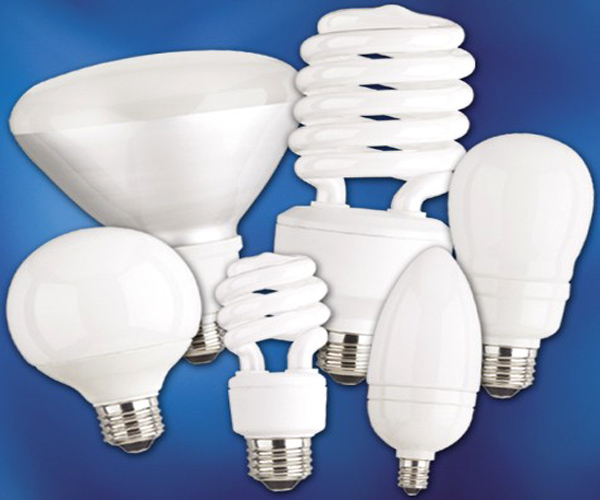 CFL lamps.