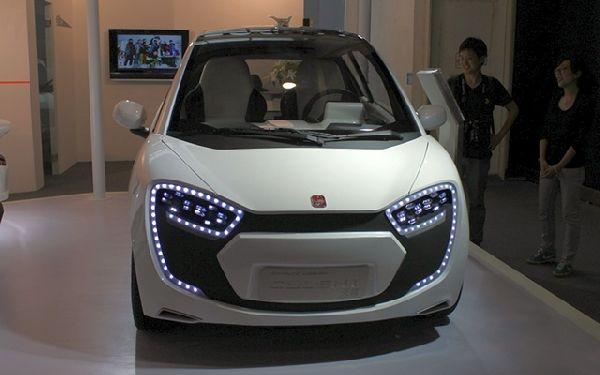 CH Auto unveils Cylent city car concept