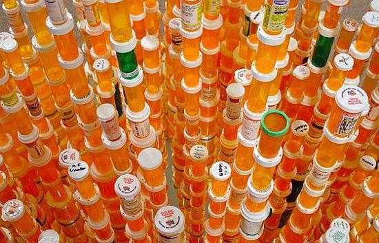 chemical balance art installation by jean shin 1