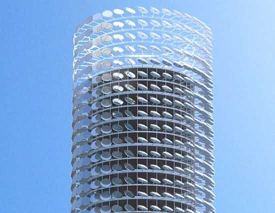 Zoka Zola Architects Propose Solar Tower For Chicago