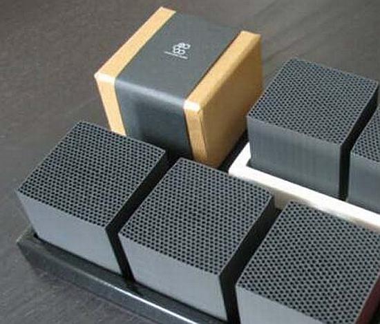 Eco Gadgets Chikuno Cube Natural Bamboo Air Purifier