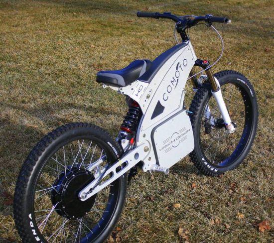 Hirsch Design Unveils Lightweight Comoto Electric Bike