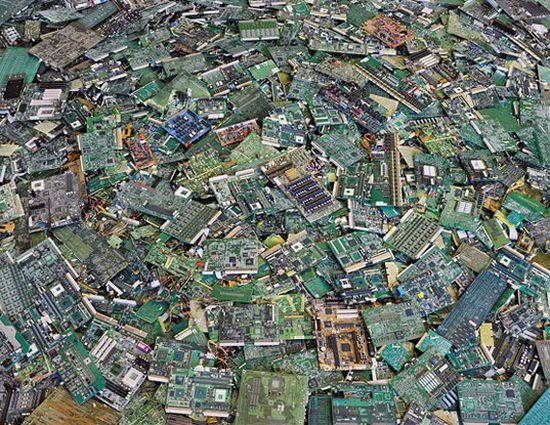 computer circuit boards photographed by chris jord
