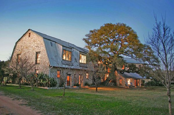 Old barn gets new life as a sustainable adobe ecofriend for Adobe home builders texas
