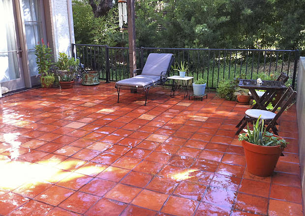 Handmade Terracotta Tiles To Help Bring Nature Inside Your