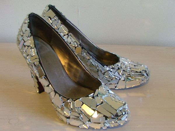 cracked mirror shoes