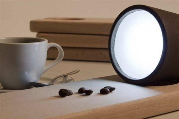 Creative Lamps Made From Recycled Coffee Grounds