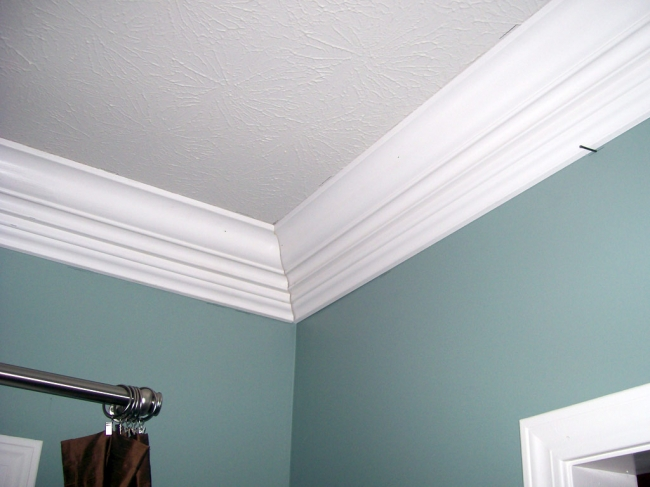 Eco friendly techniques to install crown molding corners for Kitchen cabinets crown molding installation instructions