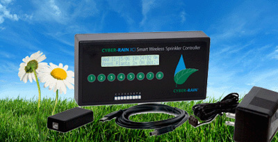 Install Cyber-Rain, the weather-based sprinkler controller