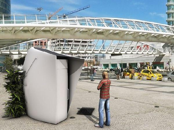 Cycle Public compost toilet