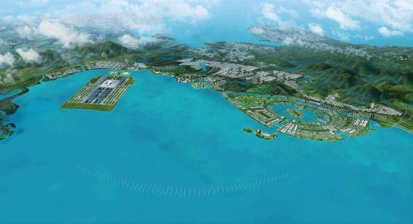 Dalian Aeropolis city